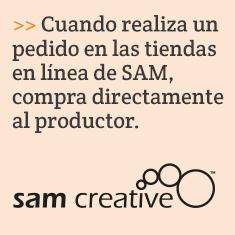 Cuando realiza un pedido en las tiendas en línea de SAM, compra directamente al productor.